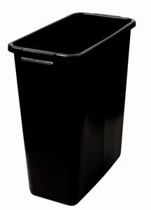 Plastkärl, 60 L, Svart