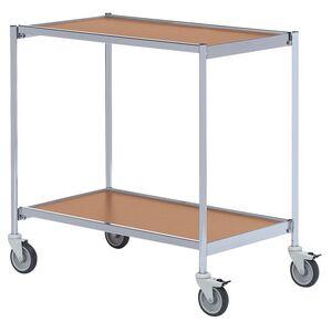 Rullbord utan handtag 1000x420 Grå/Bok-Körsbär