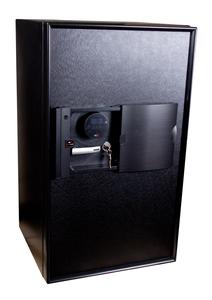 Brandklassat dokumentskåp, Aegis 100, svart