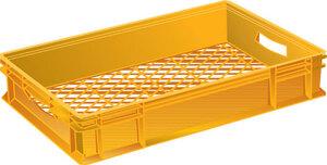 Brödback, 418x628x117 mm, Orange