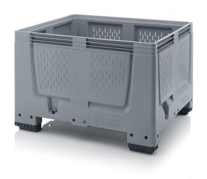 Plastlåda stor med ventilation 120x100x79 | 4 fötter