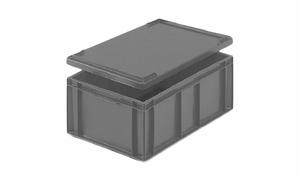 Euroback 45L | Utvändiga handtag | 600x400x235mm