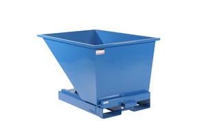Tippcontainer med tryckplatta 300 L