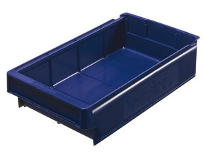 Lagerlåda 400x230x100 mm | Blå | 12 st