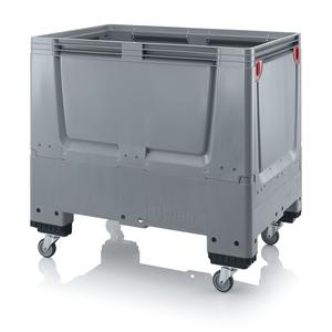 Fällbar plastcontainer 120x80x114 | 4 hjul