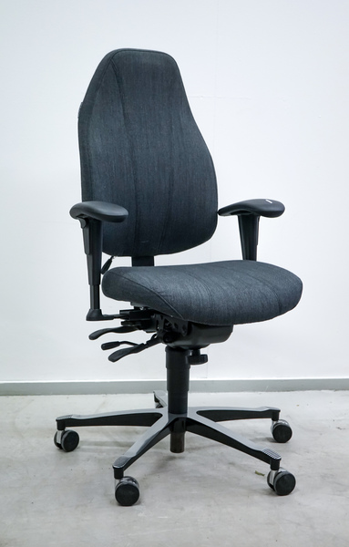 Begagnad kontorsstol Malm, grå