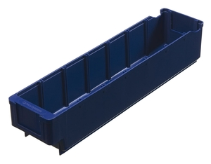 Lagerlåda 400x94x80 mm | Blå | 5 st