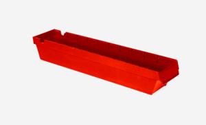 Lagerlåda 3L   600x115x100   Röd   24 st