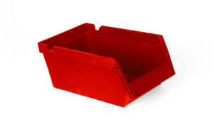 Modulback  9 L | 350x206x150 | Röd | 20 st