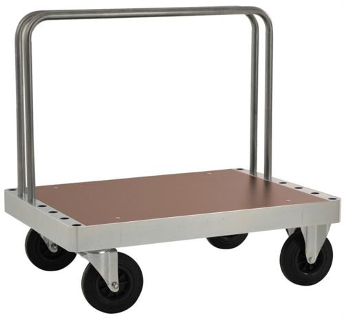 Platåvagn med två byglar | Max 800 kg
