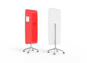 Skrivtavla Mobile Flow, röd