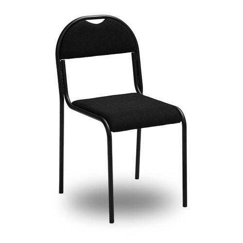 RX-stol med svart tygklädsel