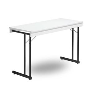 Fällbart bord, Kongress Style Ram 1200 x 600 x 730 svart/vit