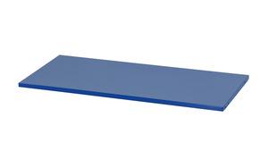 Extra hyllplan för helsvetsat plåtskåp, 1800x800x380mm, Blått