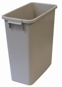 Plastkärl, 60 L, Grå