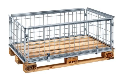 Pallramar, 1200x800 mm, kapacitet 800 kg