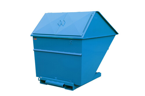 Tippcontainer med lock 2700L