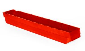 Lagerlåda 4L  600x94x80   Röd   24 st