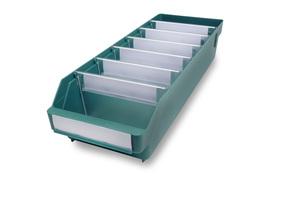 Lagerlåda 500x180x110 | Grön | 20 st