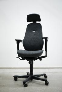Begagnad kontorsstol Kinnarps, grå