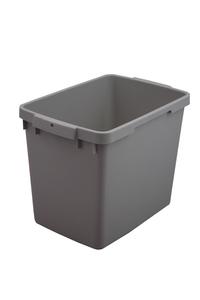 Plastkärl, 25 L, Grå