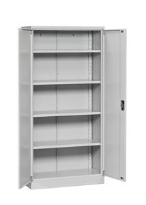 Dokumentskåp Flatpack 1850x900x400 mm, grå