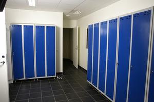 Klädskåp med 2 dörrar, Blå
