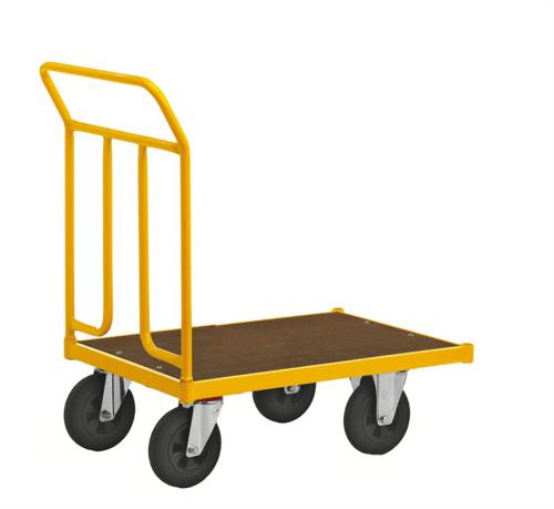 Gul plattformsvagn | Max 400 kg