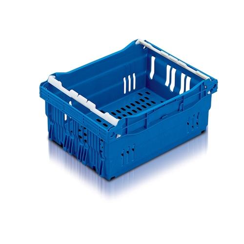 Perforerad och travbar brödback Maxi Nest, blå