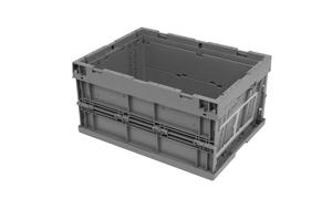 Vikbar Euroback 18L, 396x297x214, grå | 170-pack