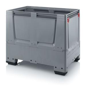 Fällbar plastcontainer 120x80x100 | 4 fötter