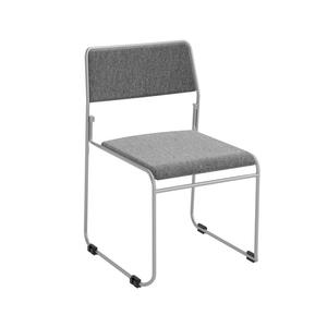 Nice-stol, grå/silver