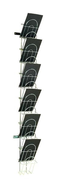 Broschyrställ för vägg, A5-format