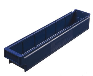 Lagerlåda 600x115x100 mm | Blå | 16 st