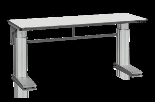Höj och sänkbart arbetsbord 500kg   Eldrivet