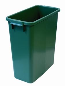 Plastkärl, 60 L, Grön