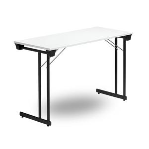 Fällbart bord, Kongress Style 1200 x 500 x 730 Svart/Vit
