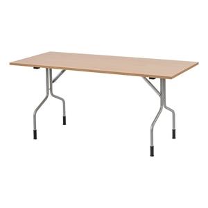 Fällbart bord Handy, 1600x700, Björk/Silver