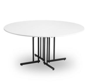 Konferensbord TILLSAMMANS vit/svart D 1600