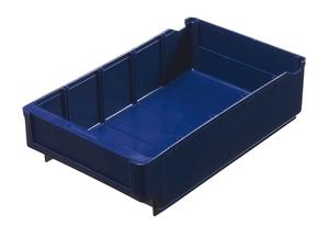 Lagerlåda 300x188x80 mm | Blå | 5 st