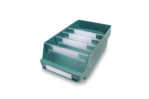Lagerlåda 400x240x150 | Grön | 10 st