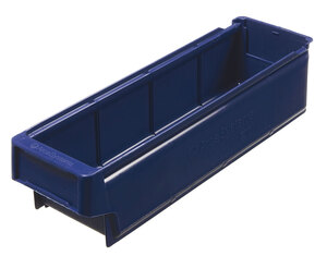 Lagerlåda 400x115x100 mm | Blå | 24 st
