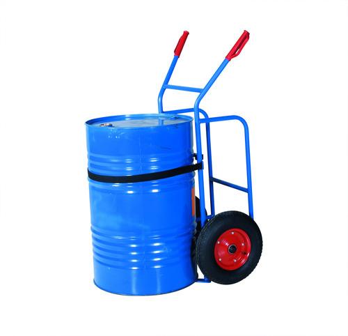 Fatkärra med stora hjul, blå