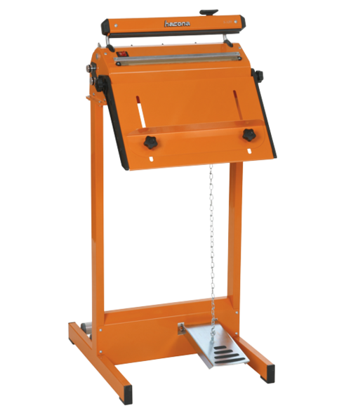 Arbetsbord & rullhållare till påsförslutare med svetsbredd 200-600 mm