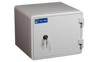 Brand- och stöldsäkert dokumentskåp med nyckellås, H 345
