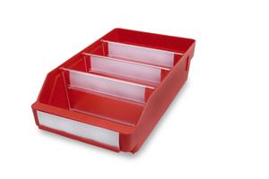 Lagerlåda 300x120x95 | Röd | 30 st