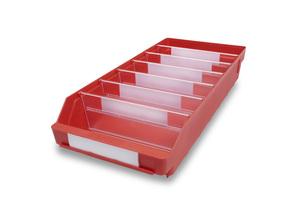 Lagerlåda 500x240x95 | Röd | 15 st