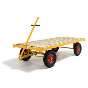 Transportvagn 3, med broms, 1000 kg