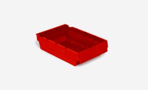 Lagerlåda 3L   300x188x80   Röd   40 st