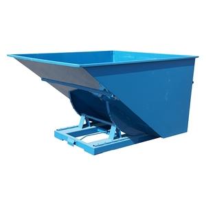 Tippcontainer med tryckplatta 2500 L